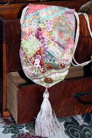Crazy Quilt Bag - sample 1