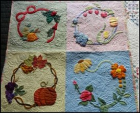 Four Seasons Reverse Applique
